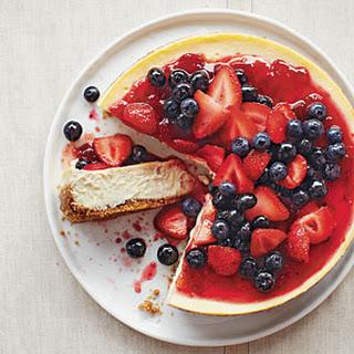 Strawberry Blueberry Cheesecake Recipes.