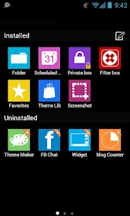 GOSMS WP7 Blue Theme Free- screenshot thumbnail
