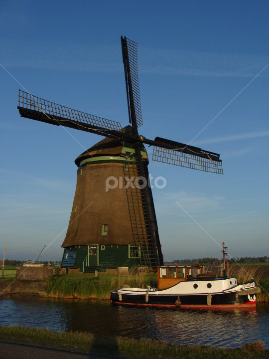 Dutch Windmill by Heidi Adams - Buildings & Architecture Other Exteriors