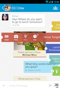 Klamr - Chat, Hangout, Share - screenshot thumbnail