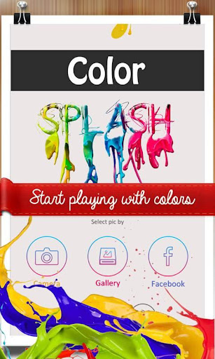 Photo Splash - Color Touch