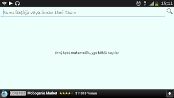 Screenshot of Tüm Dersler Kpss©