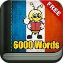 Learn French Vocabulary - 6,000 Words icon