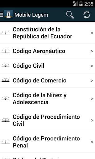 Mobile Legem - Ecuador