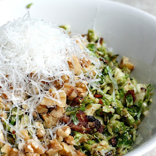 Warm Brussels Sprouts and Bacon Salad