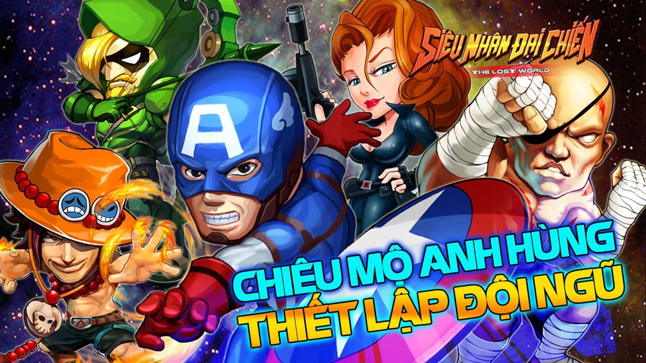 Tải game siêu nhân đại chiến 2