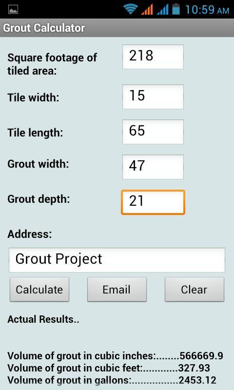 Mortar calculator for tile tile design ideas for Cost to build calculator free