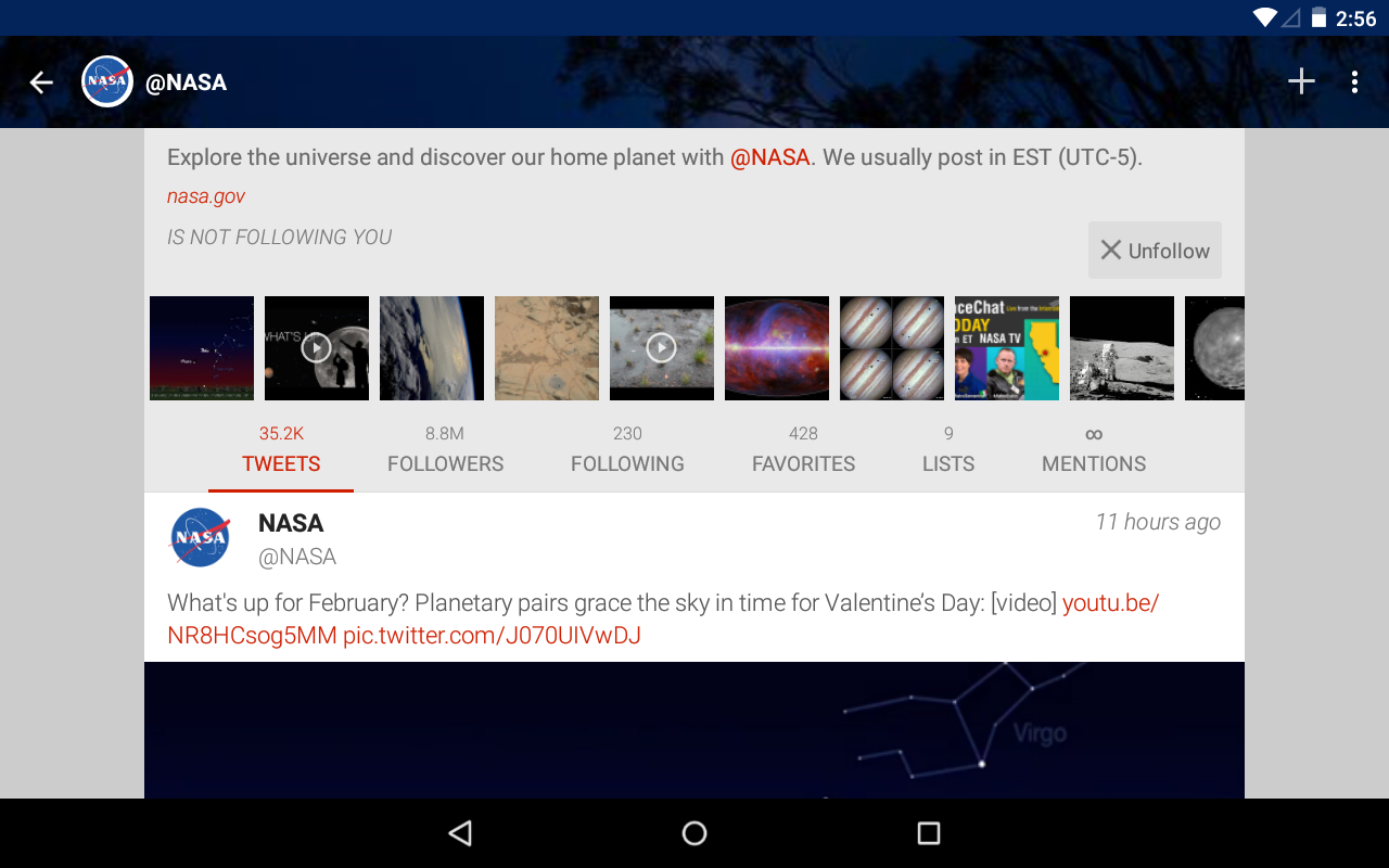 Fenix for Twitter- screenshot
