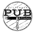 Logo for Driftwood Pub and Kitchen