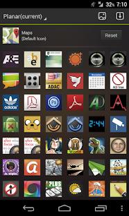 Icon Pack - Planar Theme - screenshot thumbnail