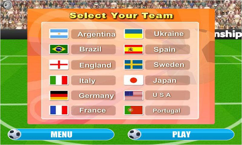 Free Kick Euro 2013 - screenshot