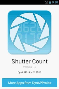 Shutter Count - screenshot thumbnail