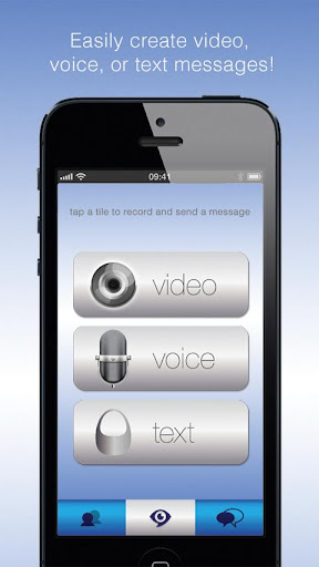 EyeSay Video Voice and Texting