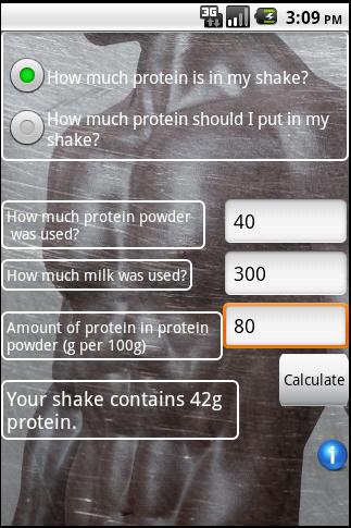 Protein Calculator Pro