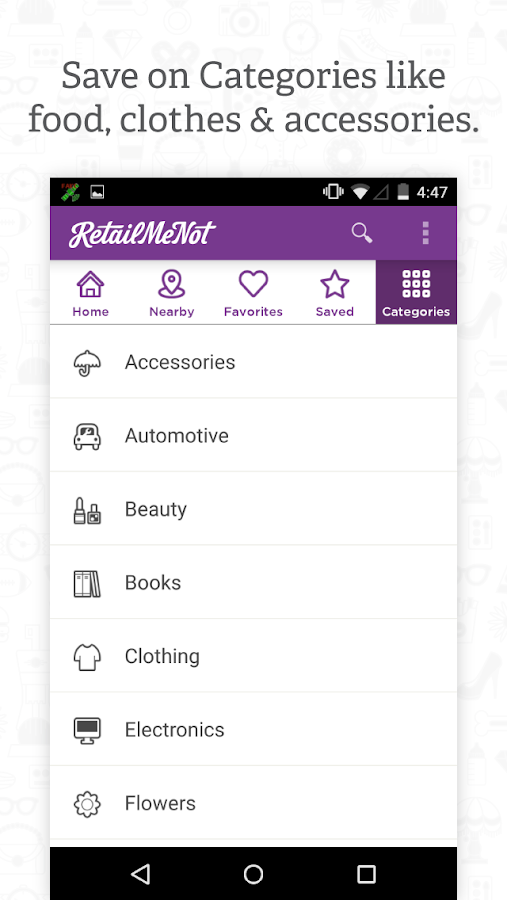 RetailMeNot Coupons, Discount- screenshot
