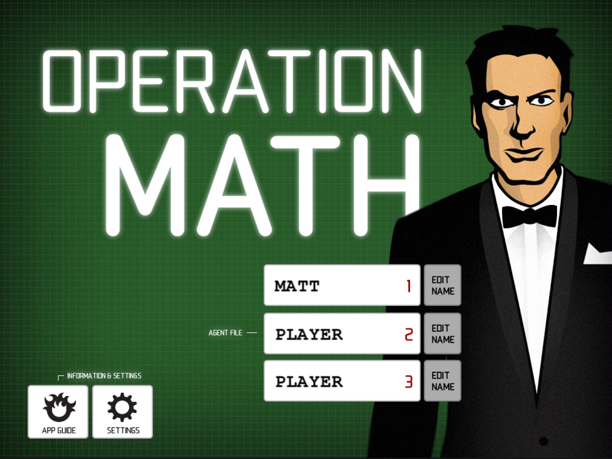 Operation Math- screenshot