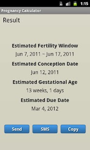 Pregnancy Calculator - screenshot thumbnail