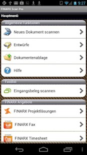 FINARX Scan Pro - screenshot thumbnail