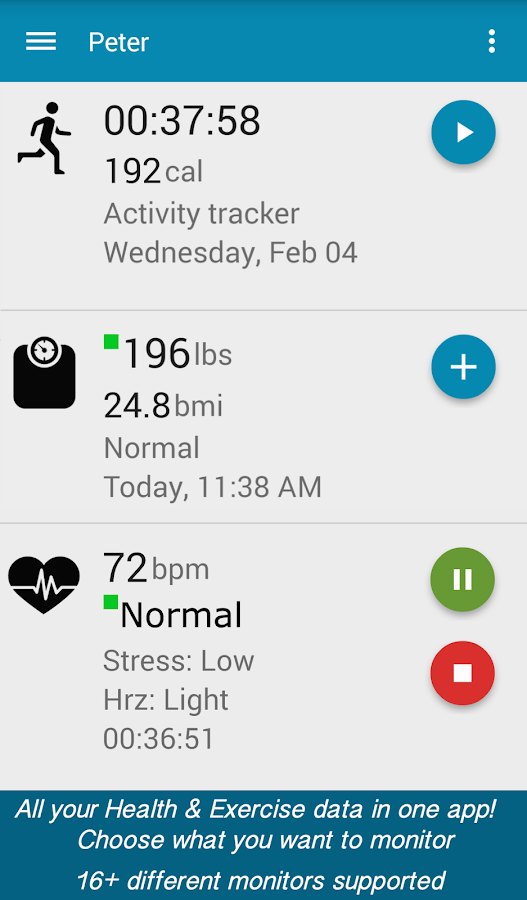 myFitnessCompanion - Health- screenshot