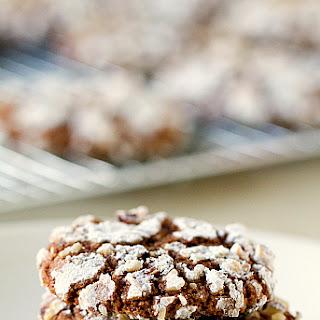 Nutella-Hazelnut Cookies.