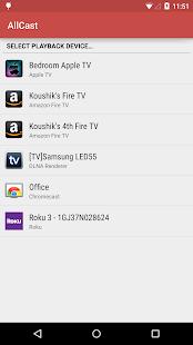 AllCast - screenshot thumbnail