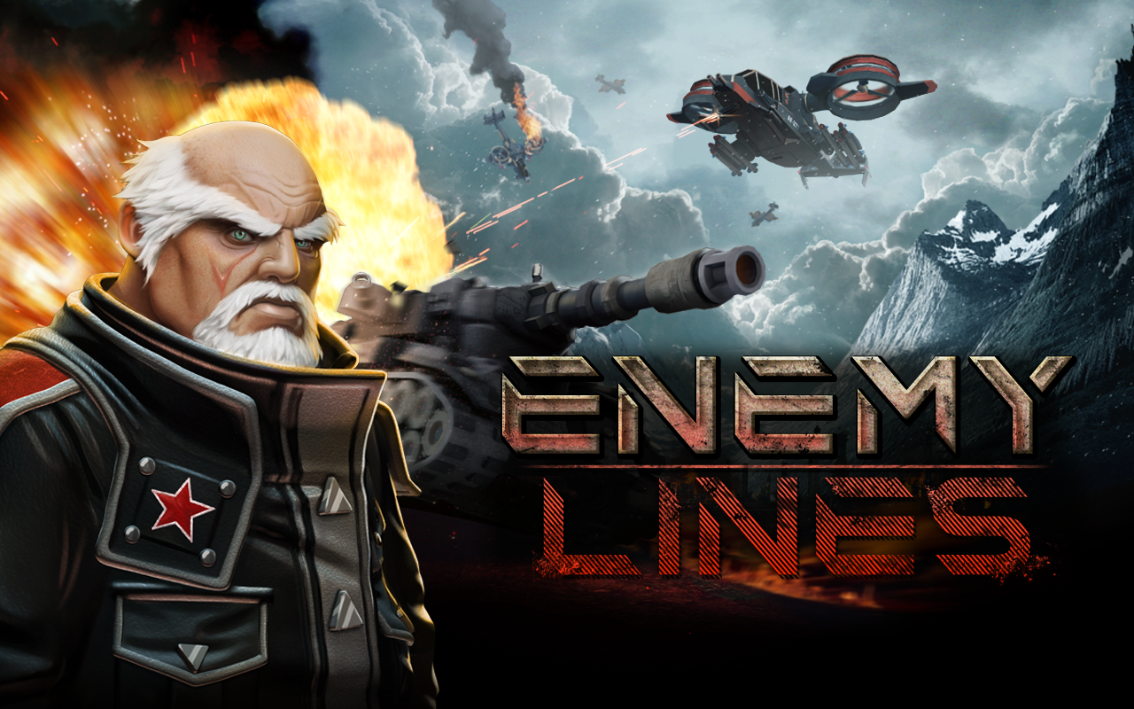 Enemy Lines-Real-Time Strategy- screenshot