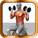Muscle Building and Fitness icon