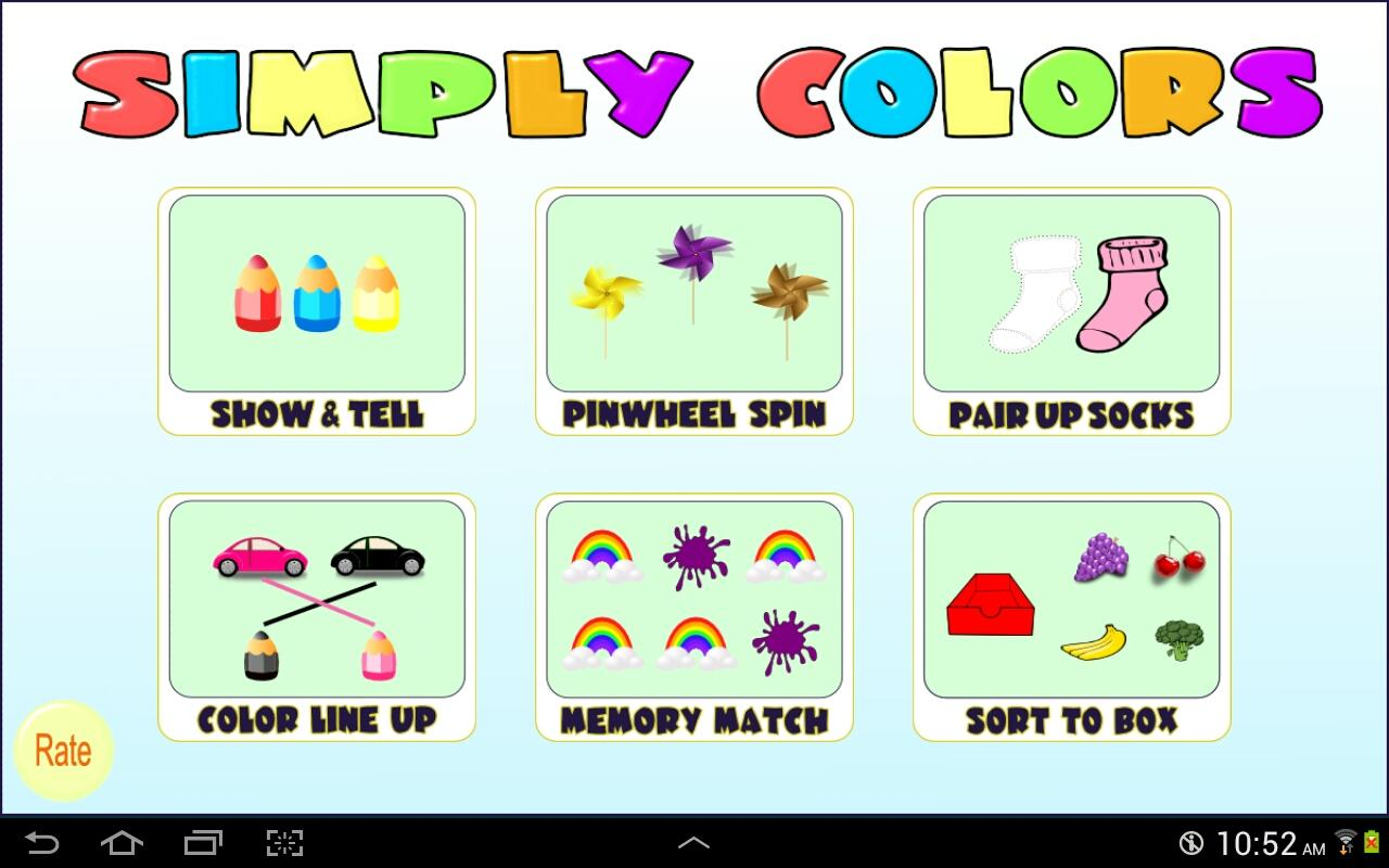 Simply Colors, preschool games – Android Apps on Google Play