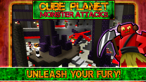Cube Planet Monster Attacks