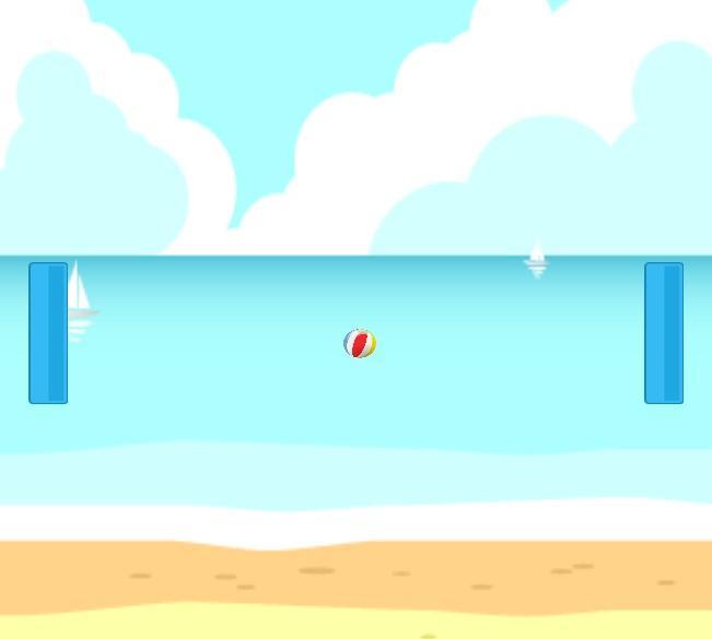 Summer Pong - screenshot