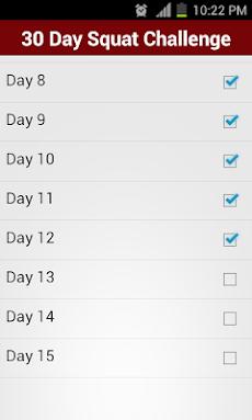 30 Day Squat Challengeのおすすめ画像2