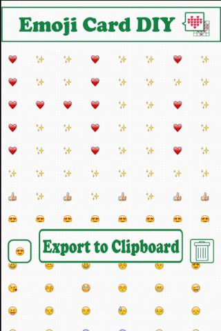 Emoji Card DIY (pre release) - screenshot