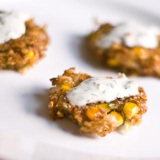 Kasha Corn Fritters.