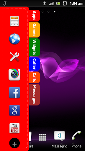Just App sidebar widget Free
