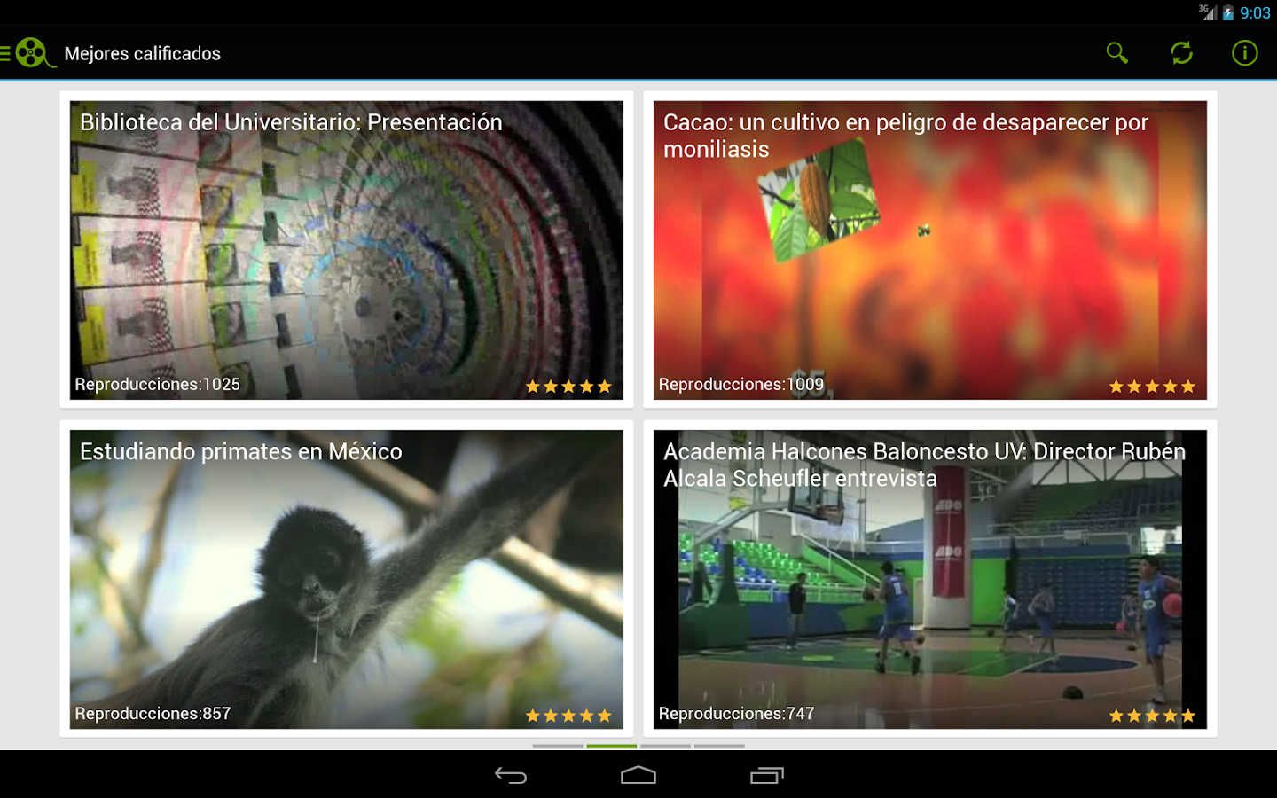 Videoteca UV- screenshot