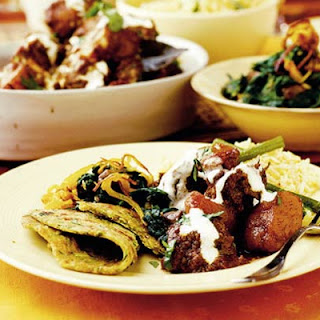 Lamb Cooked with Tomatoes & Aromatic Spices Recipe