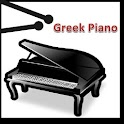 Greek piano icon