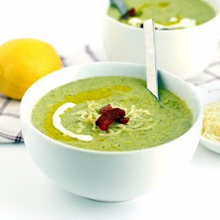 Lightened Up Broccoli Cheese Soup