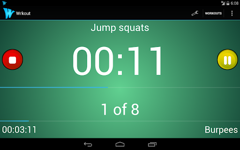 Wrkout Pro 50% off HIIT/Tabata- screenshot thumbnail