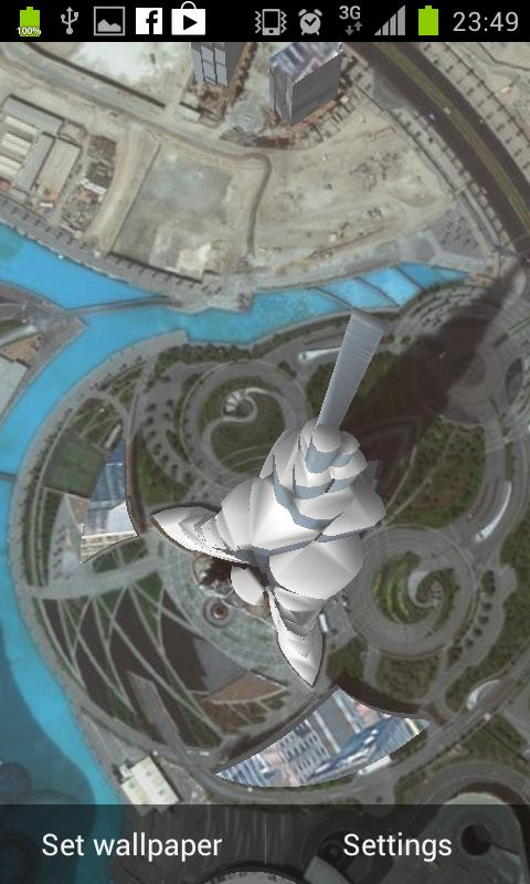Burj Khalifa 3D Wallpaper FREE - screenshot