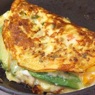 Avocado- Manchego Cheese Omelette