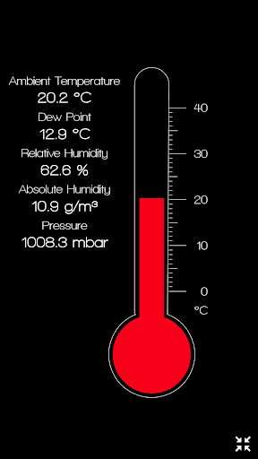 Ambient Thermometer +