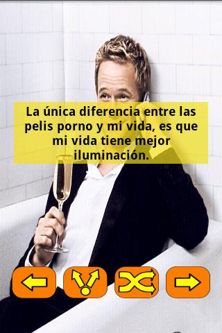 Frases Barney Stinson Español - screenshot