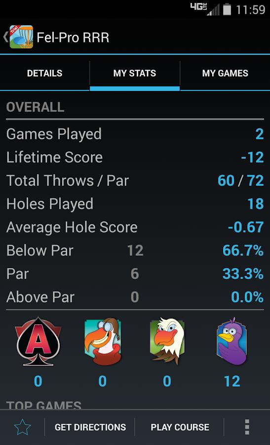 Disc Golf Fanatic Trial - screenshot