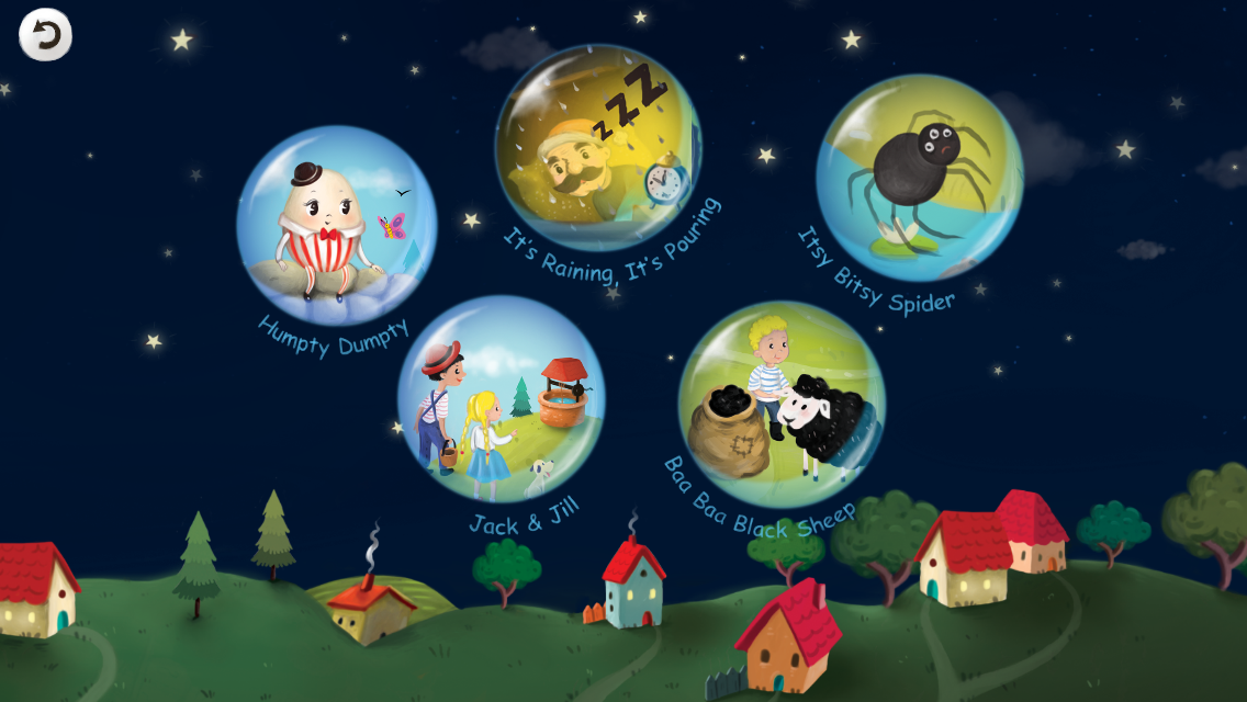 Cute Nursery Rhymes, Poems & Songs For Kids Free- screenshot