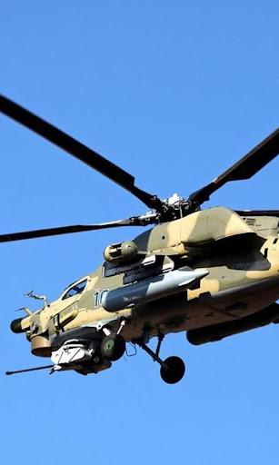 壁纸MI24直升机