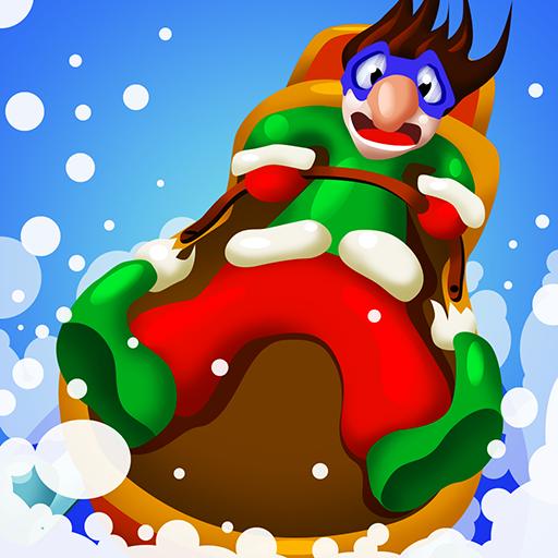 冬季雪橇冒险 賽車遊戲 LOGO-阿達玩APP