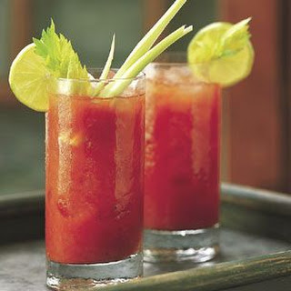 Spicy Bloody Marys.