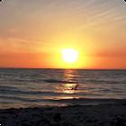 Sunset Ocean Live Wallpaper HD icon