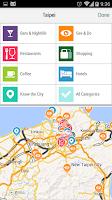 Screenshot of Taipei City Guide